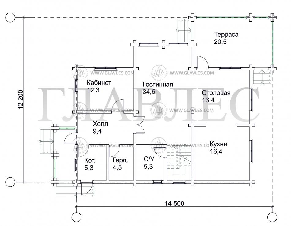 Строительство домов под ключ Москва и область.Три Топора Привилегия